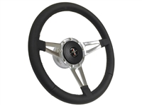 Ford Mustang S9 Leather Pony Kit with 3-Spoke Holes