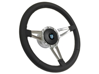 Camaro S9 Premium Leather Kit, Slotted 3-spoke