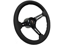Ford Mustang S6 Covert Steering Wheel Kit with Running Pony Emblem