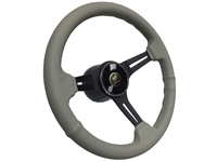 Ford Bronco Grey Leather Deluxe Steering Wheel Kit
