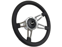 Auto Pro USA , Volante , Ford ,  4x4 , leather , Steering Wheel , Bronco , Pick up , full size , F-100 , F-150 , F-200 , F-350 ,  direct bolt on , upgrade , replacement , restoration ,