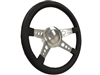 Volante S9 Premium Leather 4-Spoke, Hole Design Steering Wheel Kit