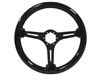 Auto Pro USA , Volante , S6 , Sport , Black ash, Wood , Steering Wheel , anodized , Black , GM , MOPAR , FORD , Corvette , Mustang , Charger , Challenger , Camaro , El camino , Impala , bel air , nova , chevy II , oldsmobile , firebird , bronco , vw ,