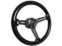 Ford Bronco Black Ash Wood Steering Wheel Kit