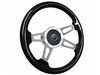 Mercury Courgar S9 Black Ash Finished Wood Steering Wheel Slotted Kit