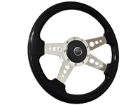 Mercury Courgar S9 Black Ash Finished Wood Steering Wheel Kit