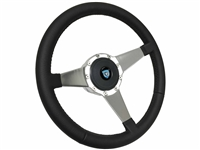 Camaro S9 Premium Leather Kit, Solid Tri-spoke