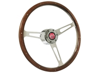 Mercury S6 Classic Walnut Wood Steering Wheel Kit