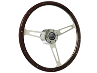 Mercury S6 Classic Dark Wood Steering Wheel Kit