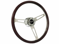 Plymouth Classic Wood Steering Wheel Kit