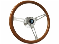 S6 Walnut Wood Chrome Classic Kit Chevy Oldsmobile