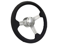 Mopar Perforated Steering Wheel Brushed Kit