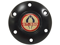 Volante S6 Black Horn Button with Ford Cobra GT-350 Emblem