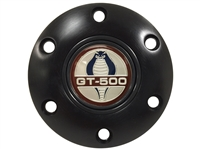 Volante S6 Black Horn Button with Ford Cobra GT-500 Emblem