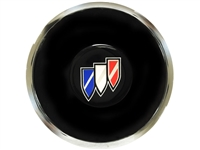 S6 Deluxe Horn Button with Buick Tri-Shield Emblem