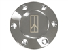 Volante S6 Etched Chrome 1981-96 Oldsmobile Rocket II Horn Button