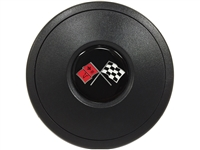 S9 Horn Button with Chevy Cross Flags Emblem