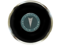 S6 Deluxe Horn Button with Classic Pontiac Green Arrow Emblem