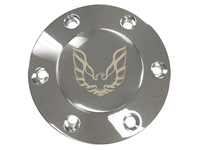 Volante S6 Etched Chrome 1970-81 Firebird Horn Button