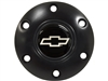 VSW S6 Black Horn Button with Silver Chevy Bow Tie Emblem
