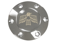 Volante S6 Etched Chrome 1967-69 Firebird Horn Button