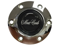 S6 Chrome Horn Button with Monte Carlo Emblem