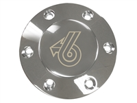 Volante S6 Etched Chrome Horn Button with Buick Grand National Emblem