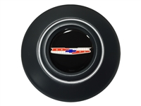 OE Series Tri Five Chevy Black Horn Cap