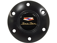 Chevy , Two Ten , 210 , Black , Horn Button , 6 Bolt , GM , Volante , Auto Pro USA , 1955 , 1956 , 1957 , Tri 5 ,