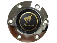 Auto Pro USA , Volante , Ford , Bronco , Deluxe , Chrome , Brushed , Black , Horn Button , 6 Bolt , volante  , 3d , foil , emblem , gold ,