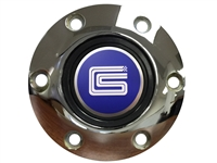Auto Pro USA , Volante , CS Shelby , Ford , Mustang , Chrome , Horn Button , 6 Bolt , 3d , foil , emblem