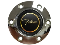 Auto Pro USA , Volante , Ford , Falcon , Deluxe , Chrome , Brushed , Black , Horn Button , 6 Bolt , volante  , 3d , foil , emblem , gold , after market