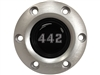 1969 - 1972 Oldsmobile 442, S6 Brushed Horn Button