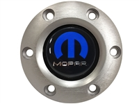 Volante S6 Brushed Horn Button, Mopar Emblem