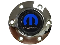 Volante S6 Chrome Horn Button, Mopar Emblem