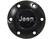 Volante S6 Black Horn Button, Jeep Emblem