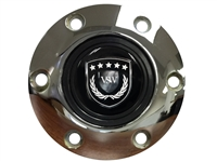 S6 Sport Chrome Horn Button with Black VSW Emblem