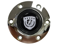 S6 Sport Chrome Horn Button with Chrome VSW Emblem