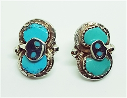 EFFIE C Turquoise Earrings