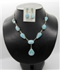 Larimar Necklace Set 136