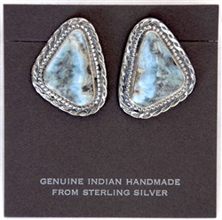 Larimar Earrings 063
