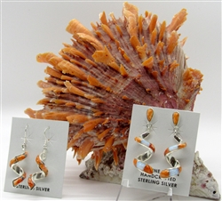 Spiny Oyster Shell Earrings