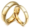Tungsten Gold Ring