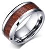 Tungsten Wood Ring