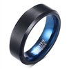 Tungsten Black Matte Ring