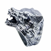 Stainless Steel Bear Ring