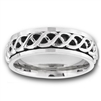 Stainless Steel Celtic Spinner Ring
