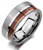 Tungsten Koa Wood Ring