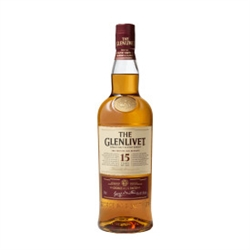 Glenlivet 15 Year French Oak Reserve Single Malt Scotch Whisky 750ml