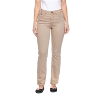 FDJ FRENCH DRESSING JEANS SUZANNE STRAIGHT LEG STYLE# 6715272 COLOUR Khaki